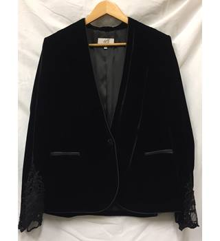 Velvet Blazer CC House of Fraser - Size: 14 - Black - Smart jacket / coat