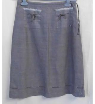 Ted Baker - Size: S  (Ted Baker size 2) Grey Skirt