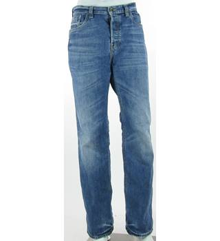 "Fat Face Denim - Size: 36"" - Faded Blue - Regular Fit Jeans"