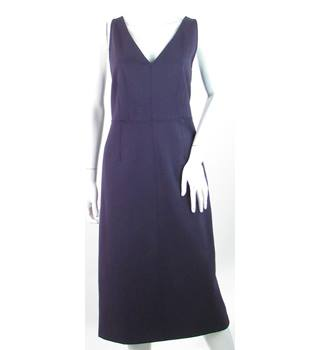 M&S Marks & Spencer - Size: 14 - Purple - Knee length dress