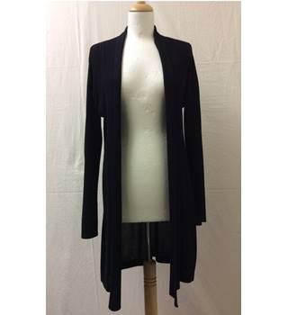 Full Length Cardigan Ava - Size: 12 - Black - Cardigan