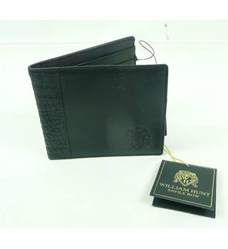 BNWT William Hunt - Size: S - Black - Leather Wallet
