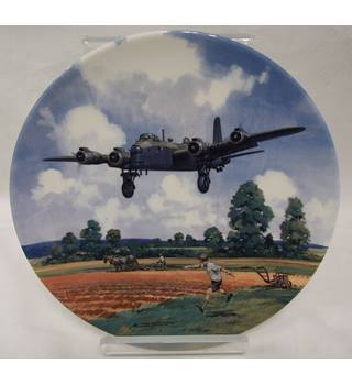 Royal Doulton Limited Edition Plate - Stirling Run Home