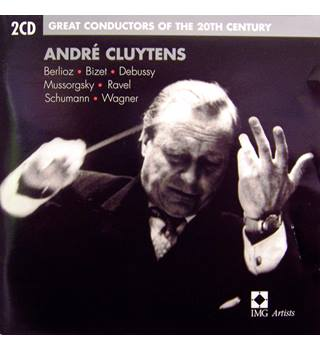 Legendary Belgian-born conductor Cluytens, and the music of seven European (inc. 4 French) composers 2 CDs