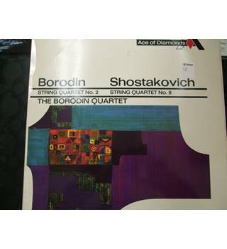 Borodin and Shostakovich- String Quartets - Vinyl LP