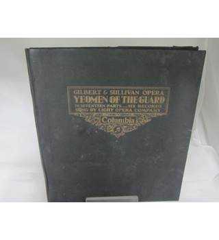Gilbert and Sullivan Opera Yeoman of the guard 6 records