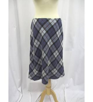 Jones New York - Size: 12 - Blue - Knee length skirt