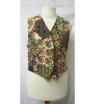 Vintage M&S - Size: 14 - Multi-coloured - Waistcoat