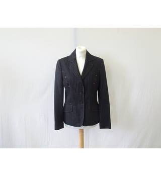 50% OFF SALE Paul Smith Grey Pinstripe Jacket Size Eu 42 (UK 10) Stunning Unique Jacket Paul Smith - Size: 10