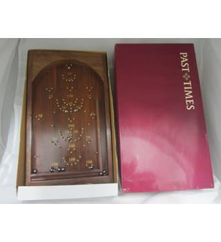 Past times Table top bagatelle complete in original box