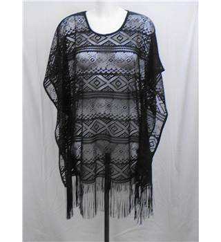 NWOT M&S Collection - Size M - Black lace top