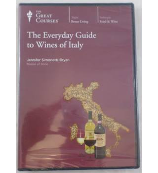 The Great Courses. The Everyday Guide to Wines of Italy. DVD