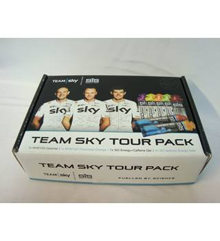Team Sky SIS Energy Gels Pack - assorted flavours