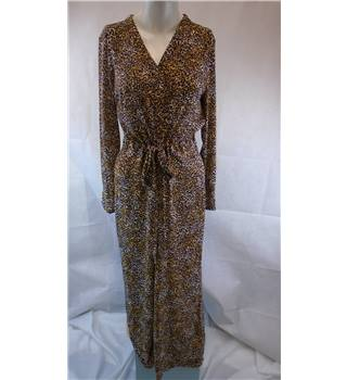 M&S Autograph size 12 animal print jumpsuit