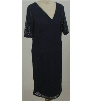 BNWT BHS Size: 14 navy-blue lace dress