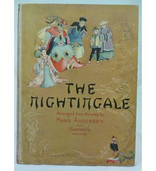 The Nightingale : Hans Andersen Vintage 1948 (Illustr Rene Cloke)