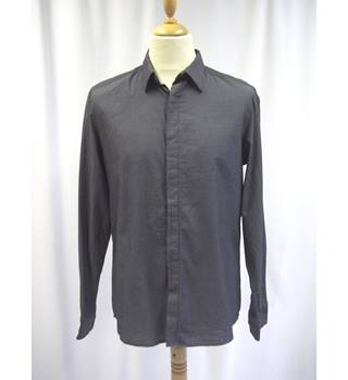 Kenneth Cole Reaction - Size: M - Grey - Long sleeved Shirt