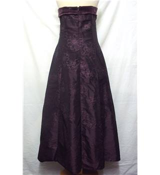 First Avenue - Size: 12 - Purple - Sparkly Evening Gown