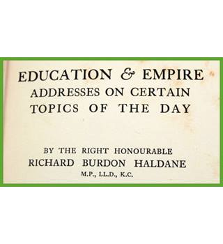 Education & Empire.