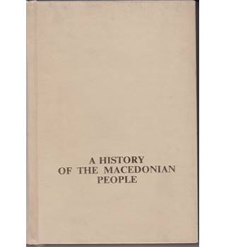 A History Of The Macedonian People