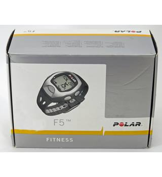 Polar F5 Fitness heart rate monitor watched. Boxed.