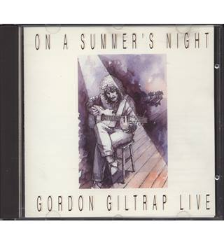 On a Summer's Night (live CD album) SIGNED by performer Gordon Giltrap