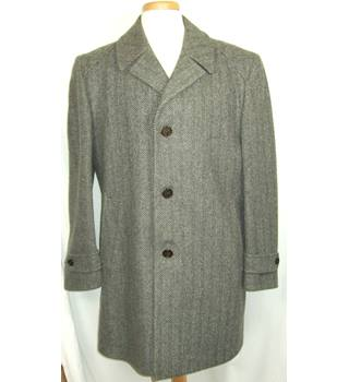 Vintage Driway - Size: Medium - Grey - Overcoat