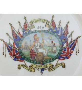 Vintage Ford Pointon British Empire Exhibition Plate Ford and Pointon