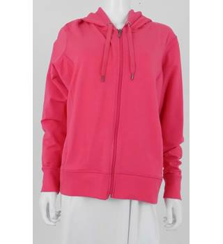 M&S Collection Size 20 Pink Hooded Zip Up Top