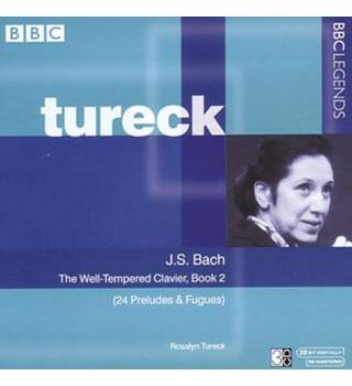 Bach - The Well-Tempered Clavier, Book 2 (3 CD album) Rosalyn Tureck