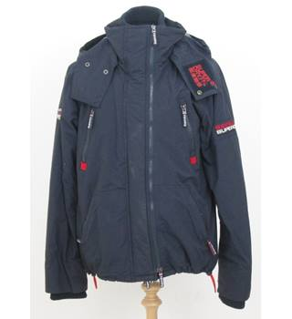 Superdry - Size M - Blue Weather Proof Padded jacket