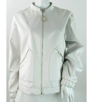 M&S Marks & Spencer - Size: 18 - Ivory - Casual jacket