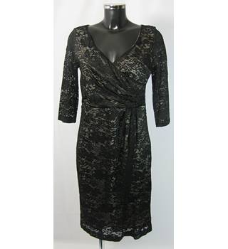 Kaliko Dress - Black - Size 12 Kaliko - Size: 12 - Black