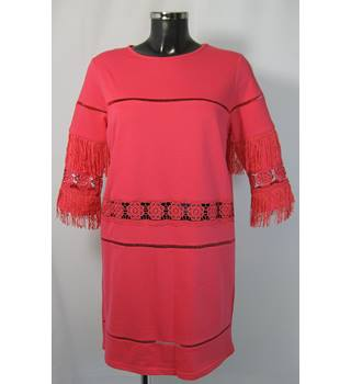 BNWOT River Island Dress - Coral Pink - Size 12 River Island - Size: 12 - Pink