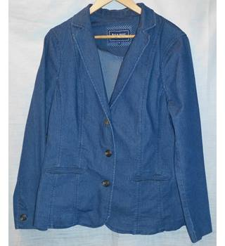 Debenhams - Size: 16 - Blue - Jacket