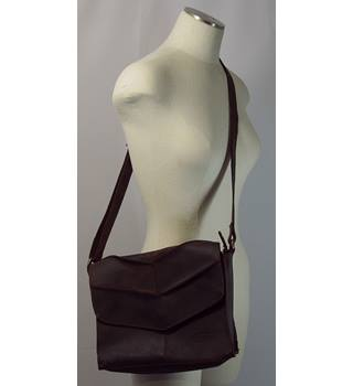 Kaszer Buffalo Hide Handbag - Brown - Size M Kaszer - Size: M - Brown