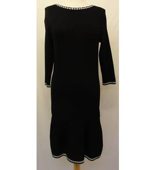 Clements Ribeiro - Size: 10 - Black - Knee length dress