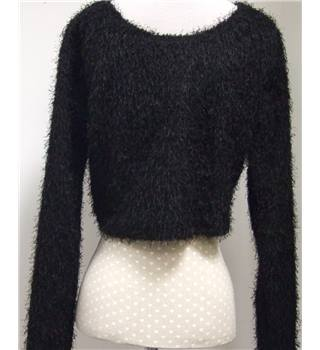 River Island (Chelsea Girl) Size 14 Black Jumper