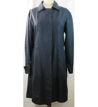 M&S Marks & Spencer - Size: 10 - Blue - Silk coat