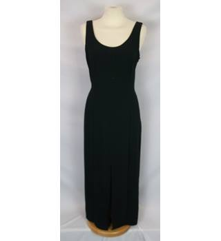Wallis  Size 10  Black Long Sleeveless Dress