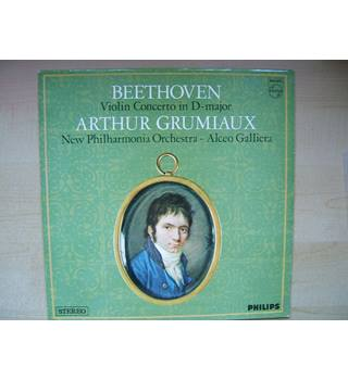 Beethoven: Violin Concerto. Arthur Grumiaux, New Philharmonia, Galliera. - Philips SAL 3616