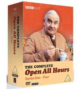 OPEN ALL HOURS OPEN ALL HOURS THE COMPLETE SERIES 1-4