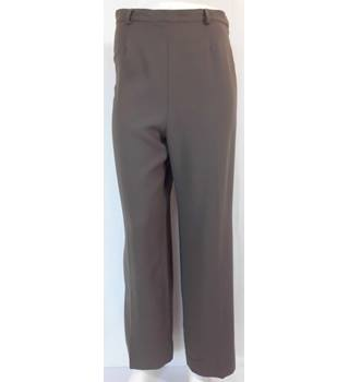 Marilyn Anselm Design For Hobbs Size 14 Wool Trousers