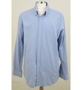 T.M.Lewin - Size XL - Blue Casual Shirt