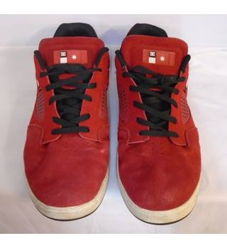 DC Kalis - Size: 12 - Red - Skate shoes