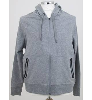 NWOT M&S Collection - Size 14 - Grey Hooded sports top