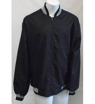 NEW - Men's Casual Jacket - Size: 5XL - Black - Jacket