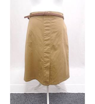 Marks & Spencer BNWOT - Size 22 - Stone Brown Skirt