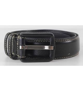 Nine West Navy Leather Belt Size Small