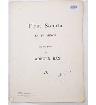 First Sonata in F Minor for the Piano - Arnold Bax